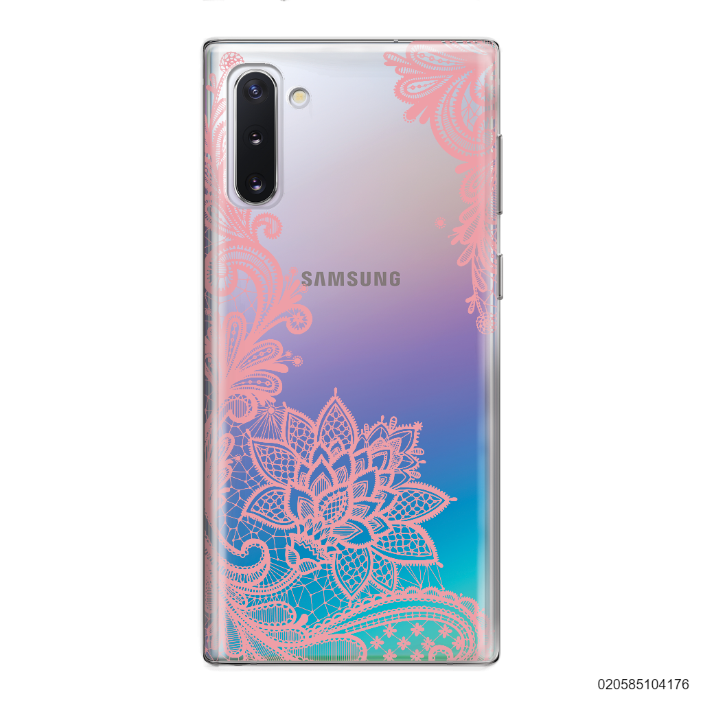 FLORAL HENNA STYLE - PINK - Samsung Galaxy Note 10