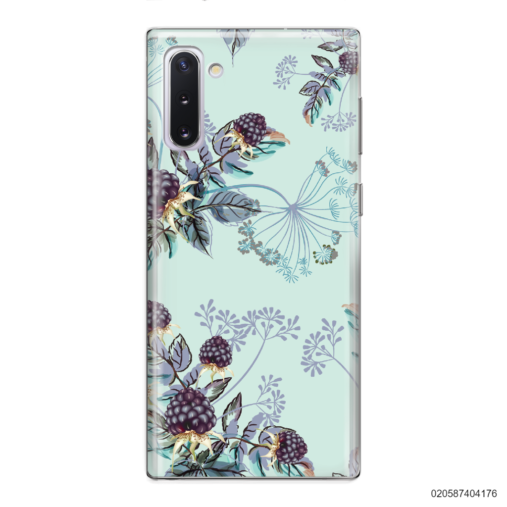 BLUE LUXURY FLORAL - Samsung Galaxy Note 10