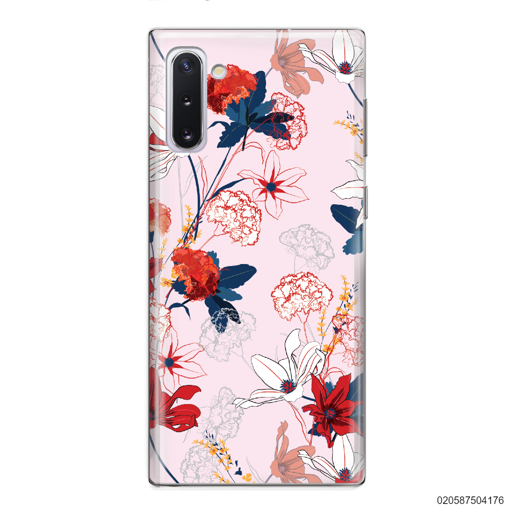 RED  LUXURY FLORAL - Samsung Galaxy Note 10