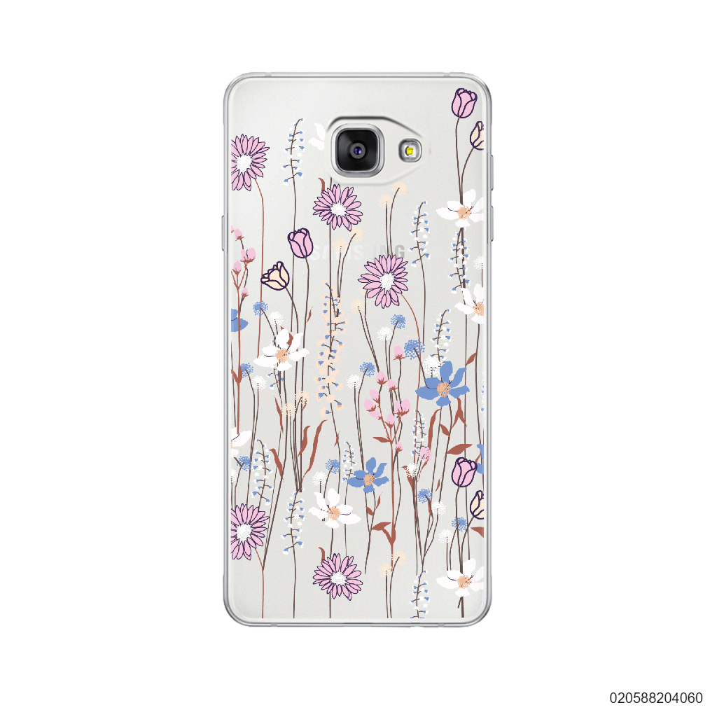 GENTLE WILD FLOWERS - Samsung Galaxy A7 2016