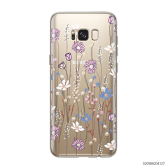 GENTLE WILD FLOWERS - Samsung Galaxy S8