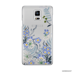 GENTLE BLUE FLOWERS - Samsung Galaxy Note 4