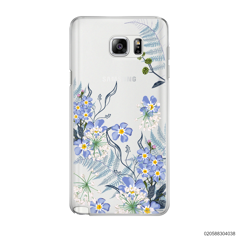 GENTLE BLUE FLOWERS - Samsung Galaxy Note 5