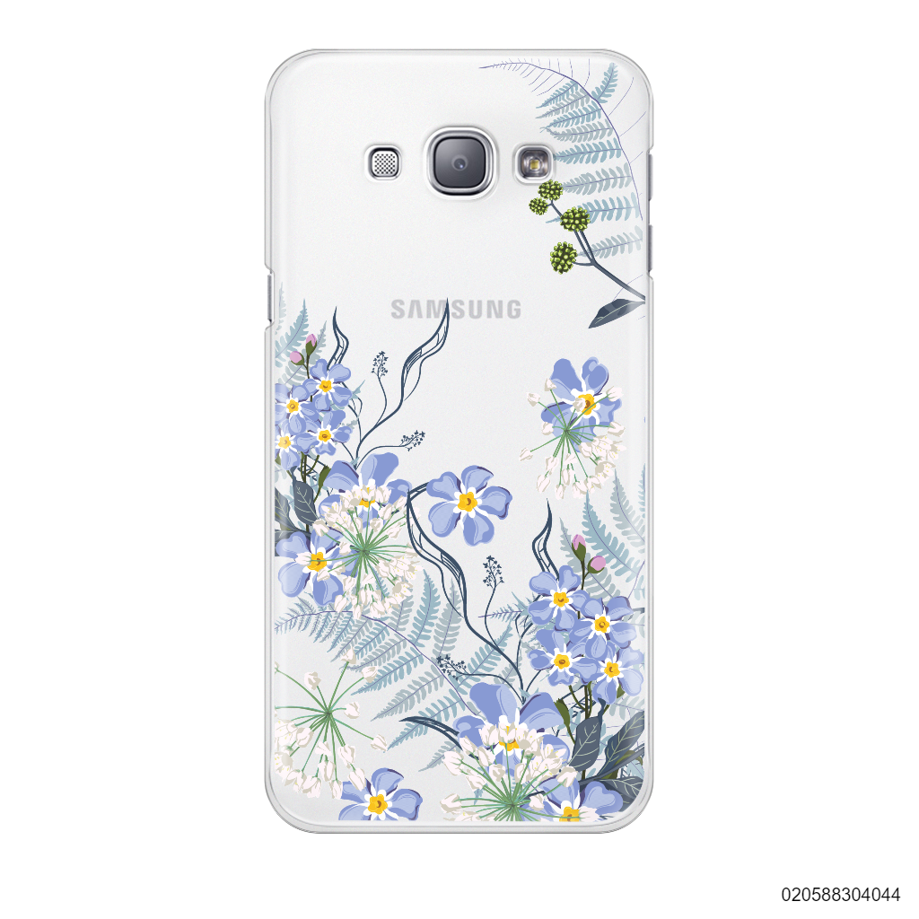 GENTLE BLUE FLOWERS - Samsung Galaxy A8 2015