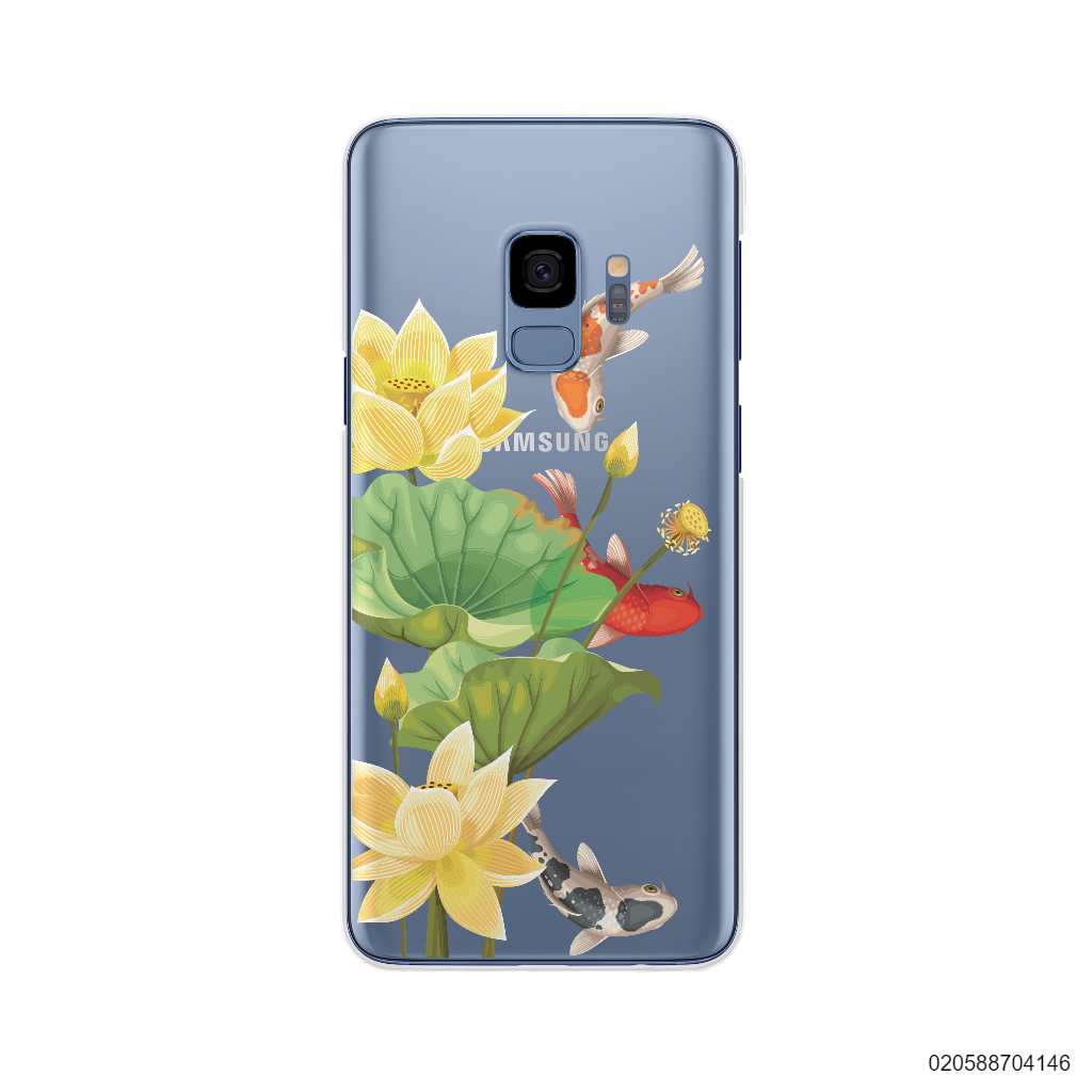 YELLOW LOTUS KOI - Samsung Galaxy S9