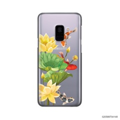 YELLOW LOTUS KOI - Samsung Galaxy A8 2018