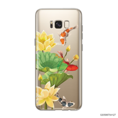 YELLOW LOTUS KOI - Samsung Galaxy S8
