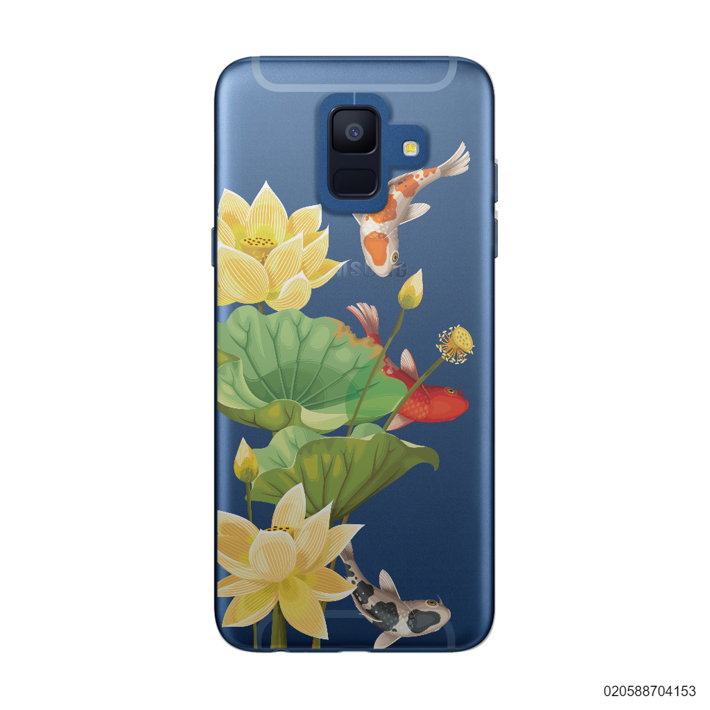 YELLOW LOTUS KOI - Samsung Galaxy A6 2018