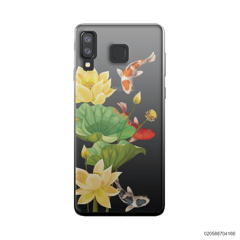 YELLOW LOTUS KOI - Samsung Galaxy A8 Star