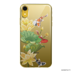 YELLOW LOTUS KOI - iPhone XR