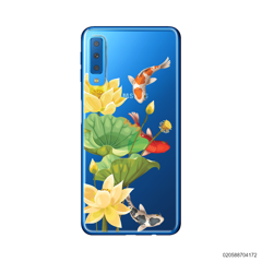 YELLOW LOTUS KOI - Samsung Galaxy A7 2018