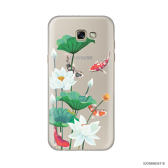 WHITE LOTUS KOI - Samsung Galaxy A7 2017