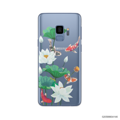WHITE LOTUS KOI - Samsung Galaxy S9