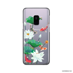 WHITE LOTUS KOI - Samsung Galaxy A8 2018