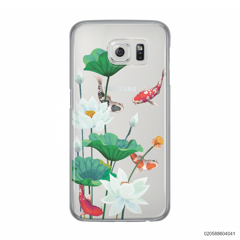 WHITE LOTUS KOI - Samsung Galaxy S6