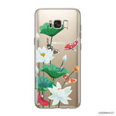 WHITE LOTUS KOI - Samsung Galaxy S8