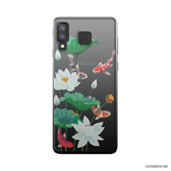 WHITE LOTUS KOI - Samsung Galaxy A8 Star