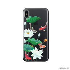 WHITE LOTUS KOI - iPhone X/ Xs
