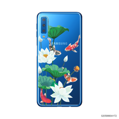 WHITE LOTUS KOI - Samsung Galaxy A7 2018