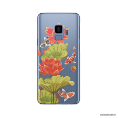 RED LOTUS KOI - Samsung Galaxy S9