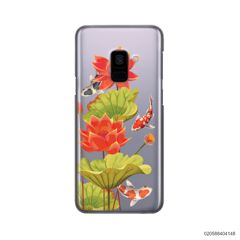 RED LOTUS KOI - Samsung Galaxy A8 2018