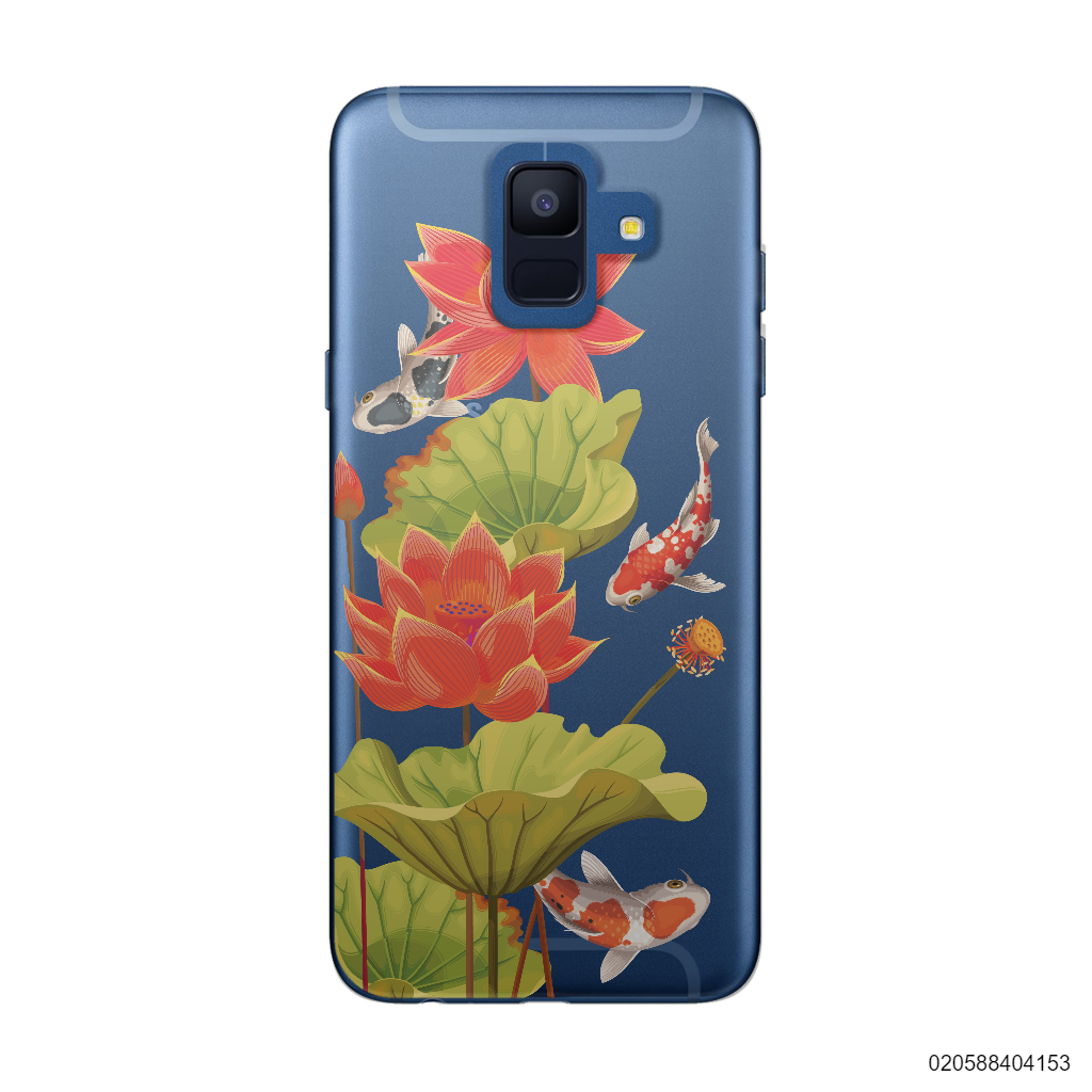 RED LOTUS KOI - Samsung Galaxy A6 2018