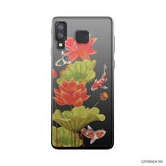 RED LOTUS KOI - Samsung Galaxy A8 Star