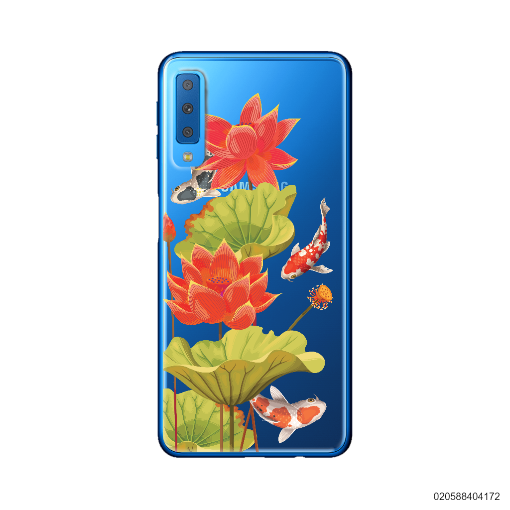 RED LOTUS KOI - Samsung Galaxy A7 2018