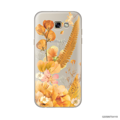 YELLOW CONCEPT DRIED FLOWER - Samsung Galaxy A7 2017