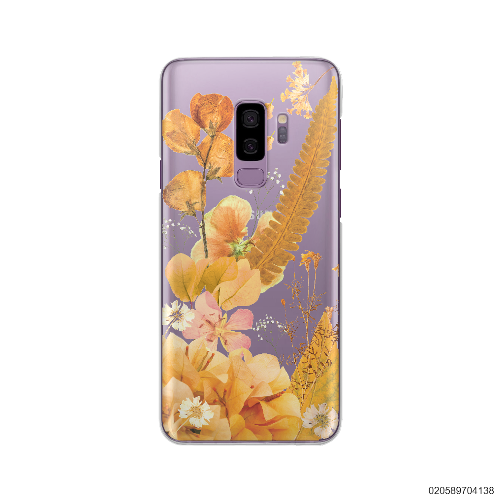 YELLOW CONCEPT DRIED FLOWER - Samsung Galaxy S9 Plus