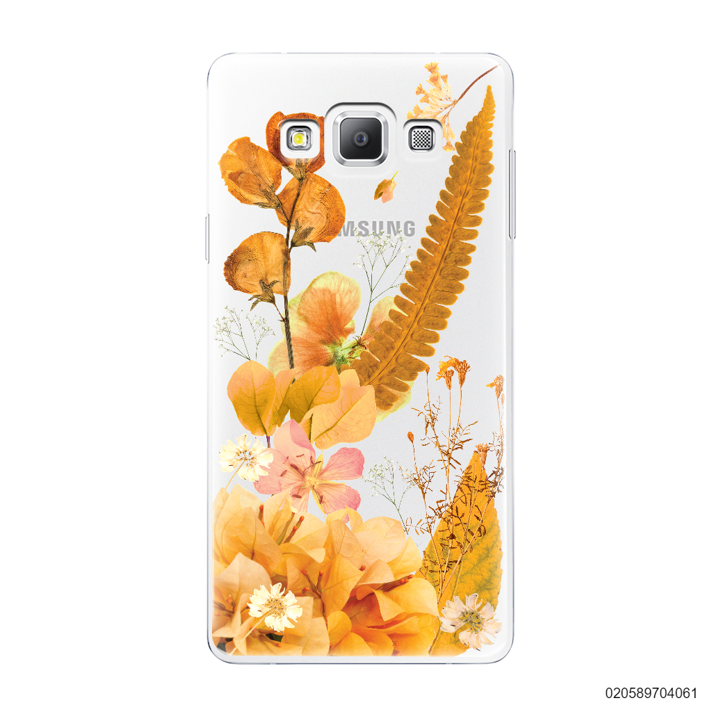 YELLOW CONCEPT DRIED FLOWER - Samsung Galaxy A7 2015