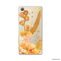 YELLOW CONCEPT DRIED FLOWER - Sony Xperia X