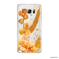 YELLOW CONCEPT DRIED FLOWER - Samsung Galaxy Note 5
