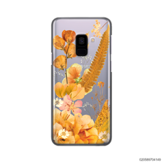 YELLOW CONCEPT DRIED FLOWER - Samsung Galaxy A8 Plus 2018