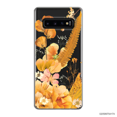YELLOW CONCEPT DRIED FLOWER - Samsung Galaxy S10 Plus