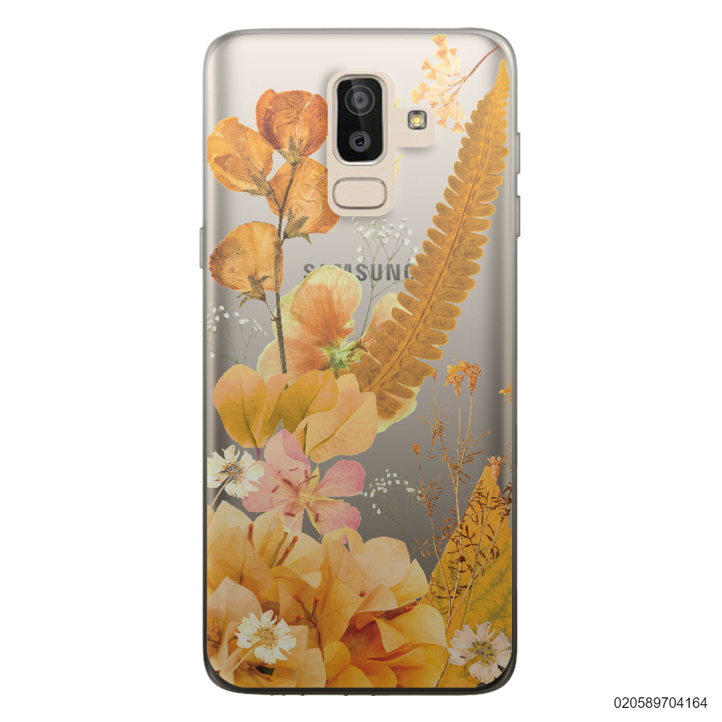 YELLOW CONCEPT DRIED FLOWER - Samsung Galaxy J8 2018