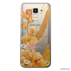YELLOW CONCEPT DRIED FLOWER - Samsung Galaxy J6 2018