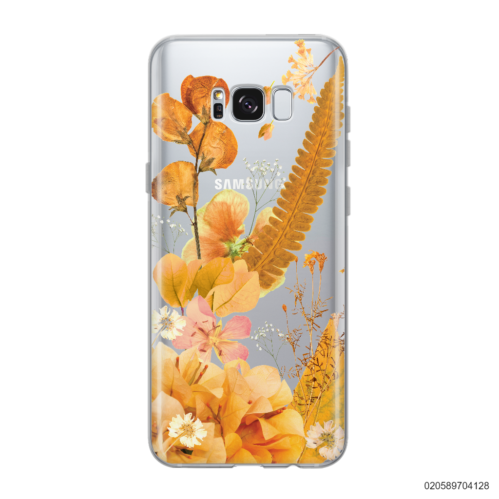 YELLOW CONCEPT DRIED FLOWER - Samsung Galaxy S8 plus