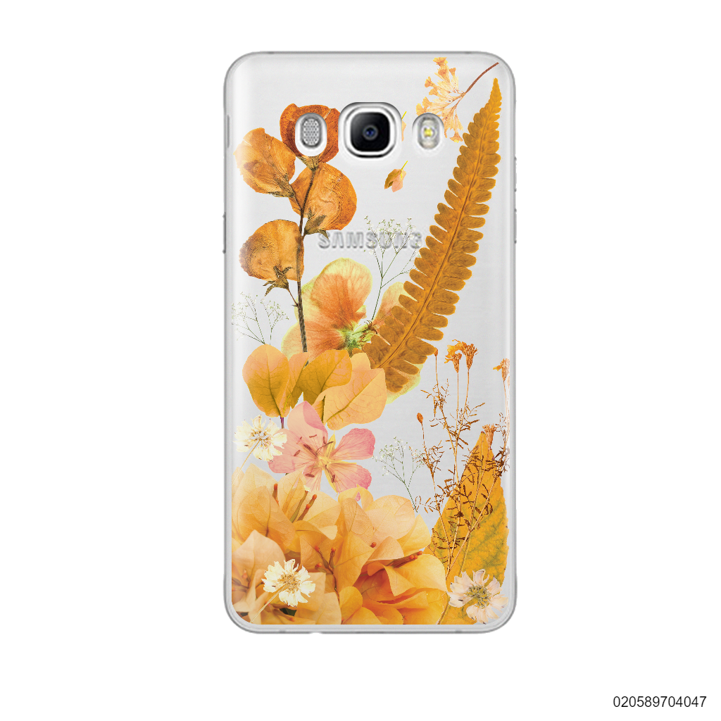 YELLOW CONCEPT DRIED FLOWER - Samsung Galaxy J7 2016