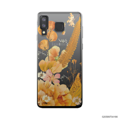 YELLOW CONCEPT DRIED FLOWER - Samsung Galaxy A8 Star