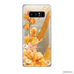 YELLOW CONCEPT DRIED FLOWER - Samsung Galaxy Note 8