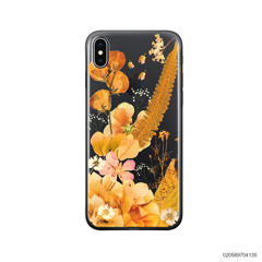 YELLOW CONCEPT DRIED FLOWER - iPhone X/ Xs