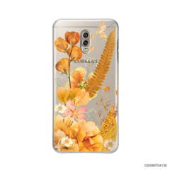 YELLOW CONCEPT DRIED FLOWER - Samsung Galaxy J7 Plus