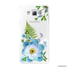 QUEEN BLUE FLOWER - Samsung Galaxy A7 2015
