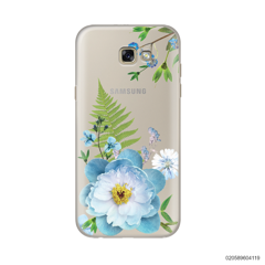 QUEEN BLUE FLOWER - Samsung Galaxy A7 2017