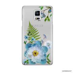 QUEEN BLUE FLOWER - Samsung Galaxy Note 4