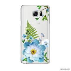 QUEEN BLUE FLOWER - Samsung Galaxy Note 5