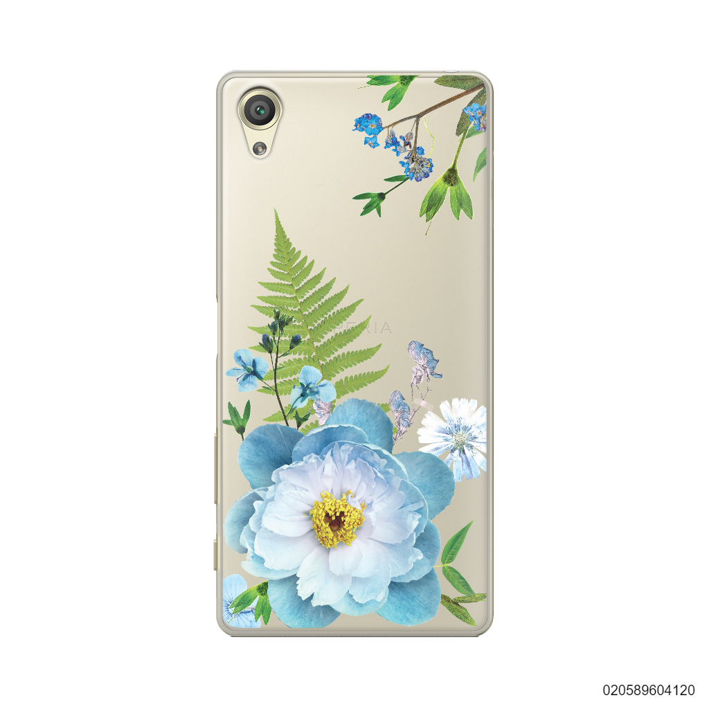 QUEEN BLUE FLOWER - Sony Xperia X