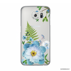 QUEEN BLUE FLOWER - Samsung Galaxy S6