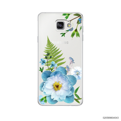 QUEEN BLUE FLOWER - Samsung Galaxy A5 2016